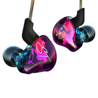 Knowledge Zenith Hybrid Driver Earphone with Mic - KZ-ZST