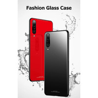 XIAOMI MI 9 SE MI9 SE TEMPERED GLASS COLOR HARD SOFT TPU CASE