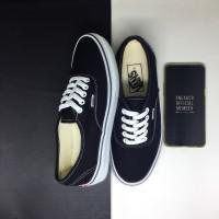 Sepatu Vans Authentic Classic Black White BNIB Premium Original