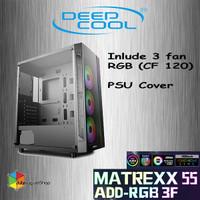 Deepcool MATREXX 55 ADD RGB - 3 Fan RGB