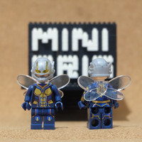 Y1-012 Minifigure The Wasp - Antman - Avengers - Lego Compatible