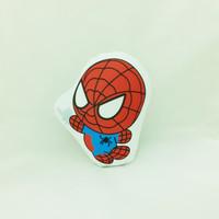 Bantal Boneka Dekorasi Superhero - Small Spiderman Chibi