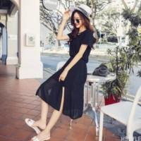 Kaos wanita Korea Dress/Midi Dress 273 Baju wanita
