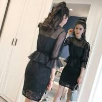 Kaos wanita Sheer Top Korea 275 Baju wanita