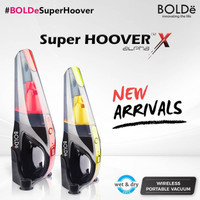 BOLDe Super Hoover X Alpha - Wireless Vacuum Cleaner Rechargeable - Kuning