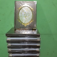 Cetak Buku Yasin Hardcover RCP 128 Hal, Rumbai,Siku, Kemas Plastik
