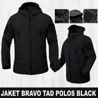 JAKET BRAVO TAD TACTICAL POLOS BLACK
