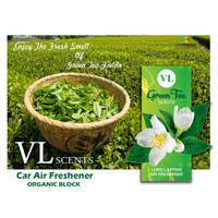 Parfum Pengharum Mobil, Ruangan, VL Scents Block Green Tea - Teh Hijau