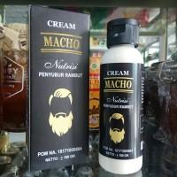 Cream Macho Nutrisi Penyubur Rambut Jenggot