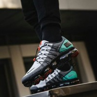 Sepatu Nike Air Vapormax Street Run Utility Grey Green - Premium