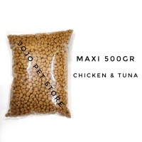 Maxi Cat Food 500gr / Makanan Kucing / Cat Food / Snack Kucing
