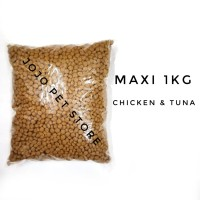 Maxi Cat Food 1kg / Makanan Kucing / Cat Food / Snack Kucing