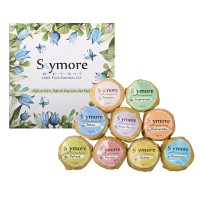 Terlaris Skymore 9pcs Bath Bombs Gift Set Essential Oil Kit