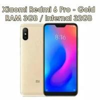 HP XIAOMI REDMI 6 PRO (XIOMI MI 6 PRO RAM 3GB INTERNAL 32GB 3/32 GB)