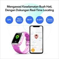 imoo Y1 Watch Phone Ungu-Jam Anak Pintar / Waterproof / Garansi Resmi