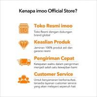 imoo Y1 Watch Phone Biru-Jam Anak Pintar / Waterproof / Garansi Resmi