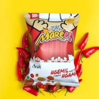 Kerupuk Teripang Mare'en Spicy - Cemilan Sehat - Gak Pake Micin