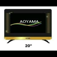 HARGA HEMAT TV LED AOYAMA 20 INCH USB MOVIES ANT DALAM Murah bagu