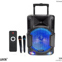 PORTABLE SOUND SYSTEM BLUETOOTH 12 INCH - NAIWA WAS-112LVB