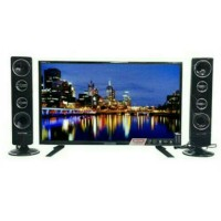 POLYTRON LED TV 32 inch PLD32T7511 CINEMAX - SPEAKER TOWER - GARA