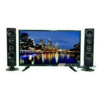 STOK TERBATAS Led TV Polytron 32 Inch T1500 Tower Speaker Usb Mov