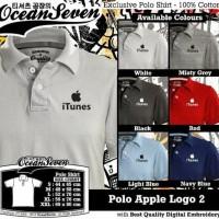 Kaos/Baju/Polo Shirt/APPLE ITUNES LOGO