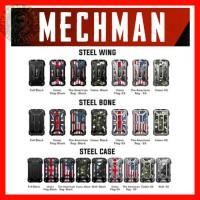 AUTHENTIC RINCOE MECHMAN STEEL CASE WING BONE Mod Vape 228W machman