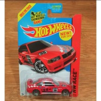 Diecast Hot Wheels BMW M3 E36 Race Red Edisi US Card Akta