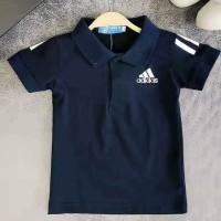 Baju Lebaran anak Kaos branded ADIDAS anak laki berkerah