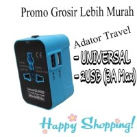 Charger Traveling World Series Universal - Blue Black