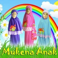 (uk. S) MUKENA ANAK/ BALITA USIA 3-4th
