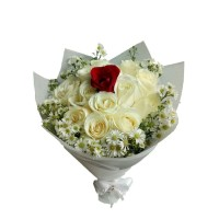 Valentine day's   Bucket bunga   buket valentine   kado valentine