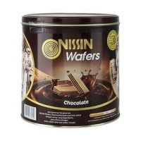 nissin wafer chocolate kaleng