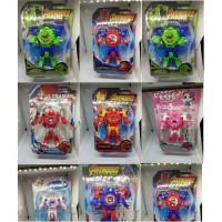 Jam tangan anak robot ukuran kecil super heroes
