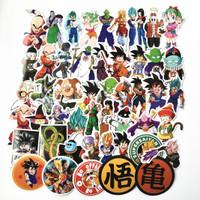 Stiker Dragon Ball Z Super GT Goku 50 Pcs