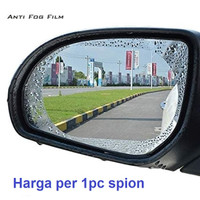 Sticker oval anti air embun screenguard kaca spion mobil fog rain film
