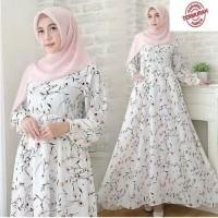 Baju Gamis Wanita Muslim Syari Modern Terbaru Dress Atasan Busui Hijab