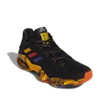Sepatu Basket Adidas Pro Bounce 2018 Low Swaggy P PE Black Original G5