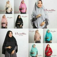 Afs Jilbab Instan Kerudung Hijab Khimar Claretta - Merah