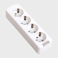 Stop Kontak OUTBOW Tanpa Kabel 4 Lubang + Lampu LED (LY-904L) (SNI)