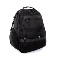 Tumi Compact Laptop Brief Backpack Ransel + Tas Laptop Black