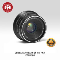 LENSA 7ARTISANS 25 MM F1.8 FOR FUJI