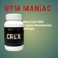 black cell Crex 280 caps creatine monohydrate platinum bkn muscletech