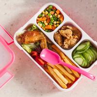 Kotak Makan 4in1 Lunch Box 4 sekat Food Container Yooyee BPA FREE