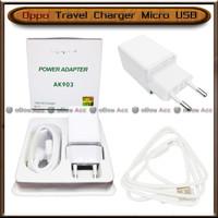 Charger Oppo 2A Travel Power Adapter Micro USB AK903 Original Casan