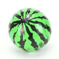 Mainan Bola Karet Motif Semangka 22cm / bola semangka