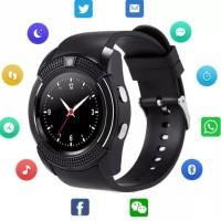Jam Tangan Handphone V8 Original Impor Smartwatch Fitur Lengkap