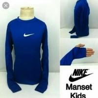Baju manset baselayer anak panjang nike adidas / kaos olahraga anak