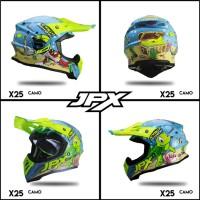 Helm JPX Cross turtle X25 ORIGINAL TERMURAH