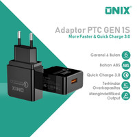 Onix Adaptor Charger PTC-1S - Support Qualcomm Quick Charge 3.0 & FCP
